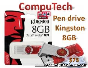 Pendrive 8GB $75